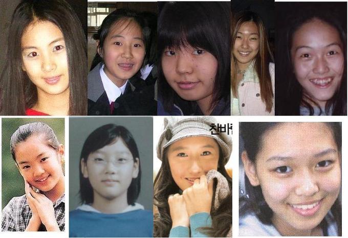 「少女時代」の本当の少女時代は化け物時代だった
