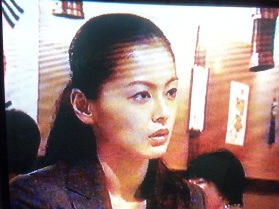 TBS『ハンチョウ・神南署安積班』最終回、後ろに太極旗(韓国国旗)