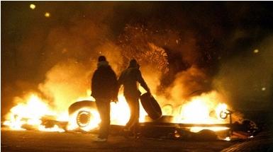 スウェーデン移民で放火