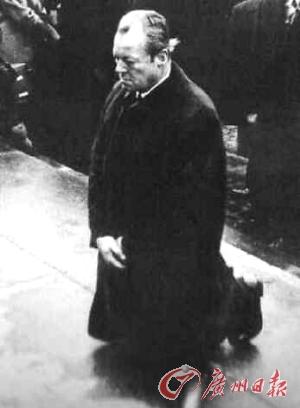 ドイツのヴィリー・ブラント元首相