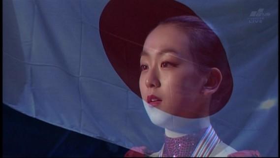 2010.3.27女子フィギュア世界選手権の浅田真央(フジテレビは表彰式をカット)