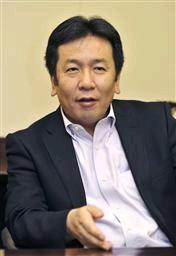 民主党幹事長代理の枝野幸男