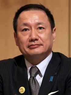 日本創新党党首の山田宏氏