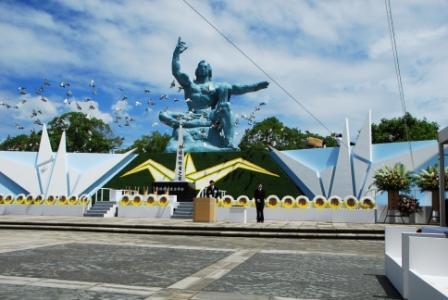 平成21年8月9日に行われた被爆64周年長崎原爆犠牲者慰霊平和祈念式典