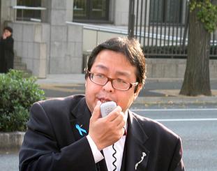 在特会の桜井誠会長