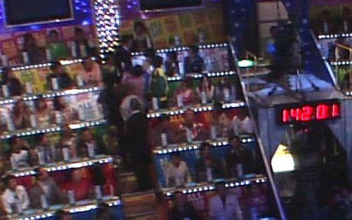 2009年TBSの「オールスター感謝祭」の生放送中に東京03のメンバーに