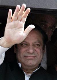 パキスタンのシャリフ元首相