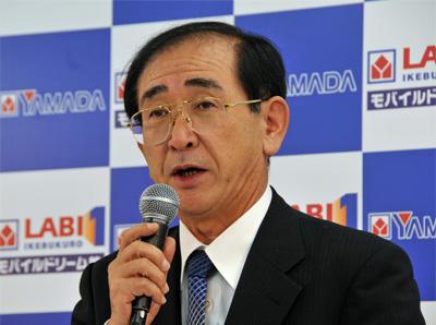 一宮忠男・代表取締役社長兼代表執行役COO