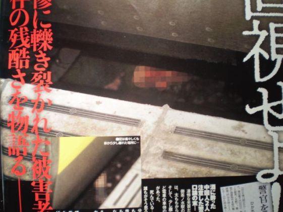 支那人の李志は、JR御茶ノ水駅ホームで電車が進入していることを知りながら、口論になった男性警察官をホームから突き落とした