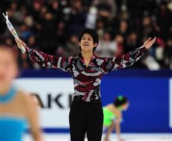 【全日本フィギュアスケート選手権大会】男子SPの小塚崇彦=長野・ビッグハット