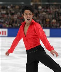 【全日本フィギュアスケート選手権大会】男子SPの高橋大輔=長野・ビッグハット