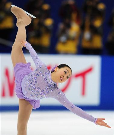 全日本フィギュアスケート選手権2010世界選手権・代表最終選考試合女子フリーで2位となった浅田真央