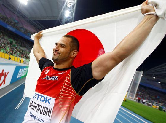 韓国大邱の世界陸上男子ハンマー投げで室伏広治が04年のアテネ五輪に続いて2個目の「金」
