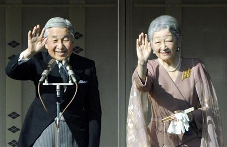 2011.1.2皇居で新年の一般参賀