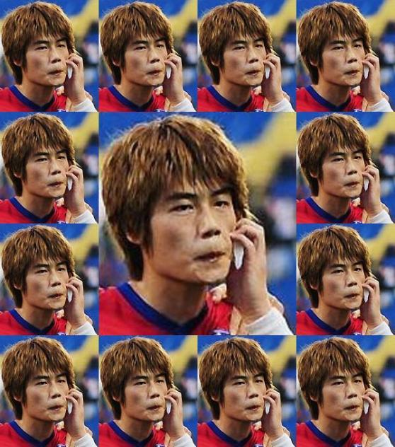 25日、アジアカップ準決勝の韓日戦の前半22分、'誕生日祝福ゴール'を決めた奇誠庸(キ・ソンヨン、22、セルティック)は 迷わずカメラの前に走って行った。そして左手で顔をかくしぐさをした。いわゆる'猿セレ