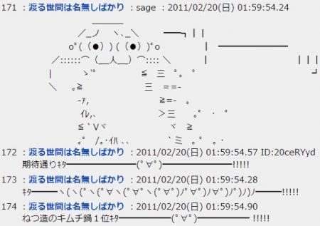 『ランク王国』で日本人が好きな鍋1位にキムチ鍋がランクイン! 視聴者「また捏造か」