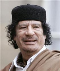 ムアマル・カダフィ大佐
