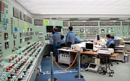 機能不全のままの福島第1原発3号機の中央制御室=2010年9月(東京電力提供)