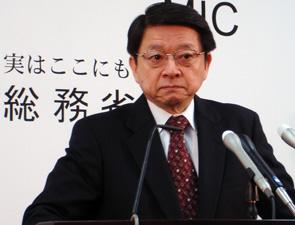 片山善博総務相