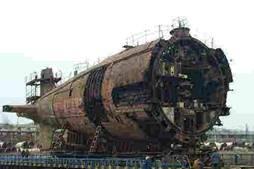 原潜解体支援(ロシア退役原潜解体協力事業「希望の星」)
