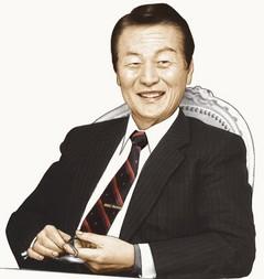 ロッテグループ会長の重光武雄=辛格浩(シン・キョクホ)