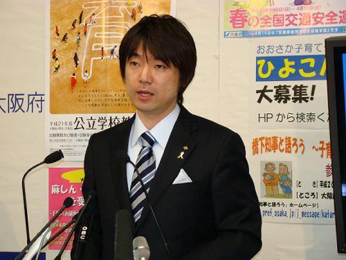 【政治】橋下知事 「君が代不起立の教員、意地でも辞めさせる」「国歌・国旗を否定するなら公務員辞めろ」…大阪