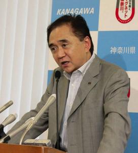 神奈川県の黒岩祐治知事が大阪府の橋下徹知事を批判 国歌「強制そぐわない」
