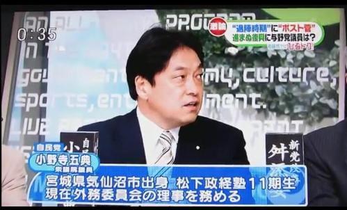 小野寺五典議員(被災者).