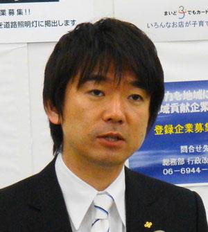 大阪維新の会 大阪府の橋下徹知事