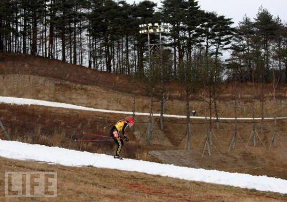 2018年冬季五輪が開催される平昌(韓国)のスキー場