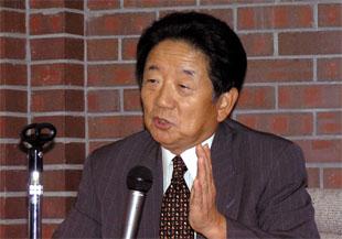 島田晴雄・千葉商科大学学長