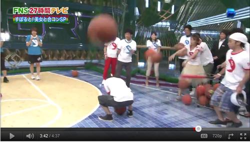 【話題】27時間テレビでジャルジャル福徳がバスケボールをぶつけ岡村イジメ? YouTubeコメントが炎上中