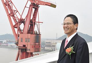 川崎重工業の神林伸光常務