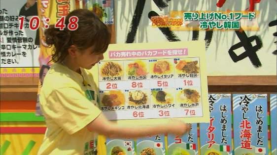 に・フジテレビ「お台場合衆国2011」で「冷やし韓国」が売り上げNo.1フードに!