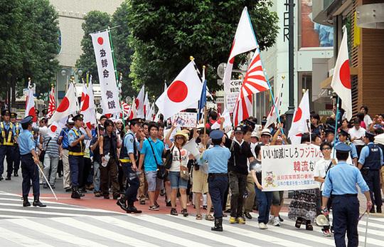 2011年8月14日「いい加減にしろフジテレビ! 韓流なんていらない国民大行進!」