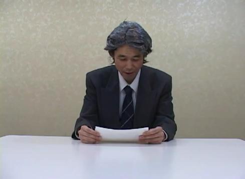 「お言葉【殿方充】」という動画が公開。芸人の殿方充が天皇陛下のモノマネを行い、3月16日に行われた声明文の読み上げを笑いのネタに