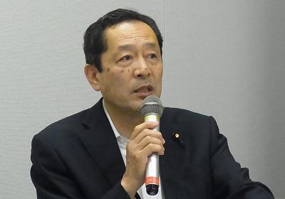 日本に謝罪と賠償の責任=服部良一衆議院議員