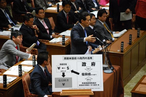2011年9月27日(火)、江田けんじが衆議院予算委員会にて質問をしました