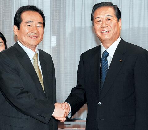 小沢、在日韓国人への地方参政権付与に意欲