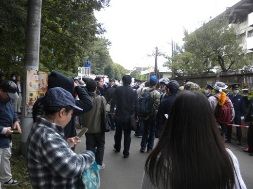 朝鮮学校解体デモ 朝鮮大学校