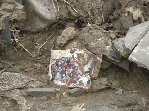 2011年4月30日東日本大震災 陸前高田市