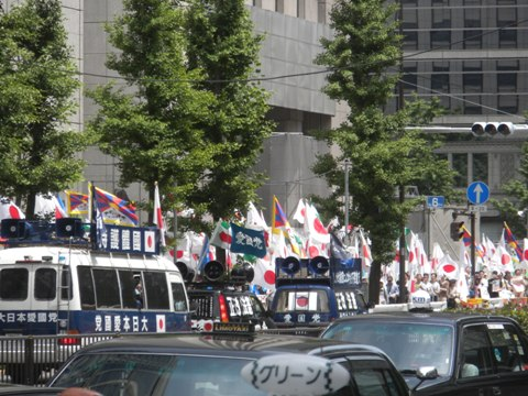 2011.5.22経団連、中国のアジア支配阻止!アジアに自由の砦を!5.21・22 国民大行動!