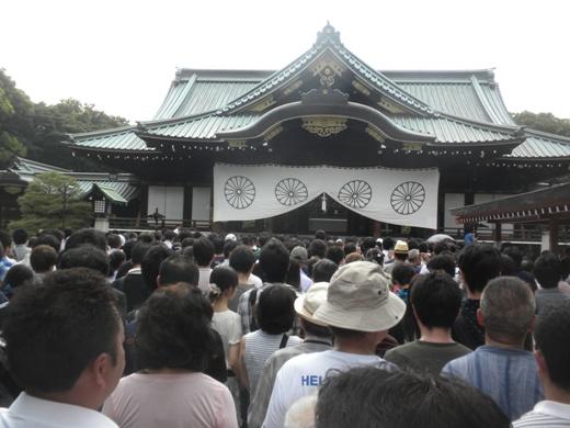 2011.8.15靖国神社参拝