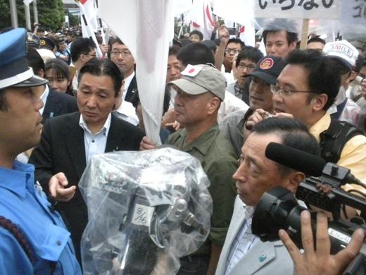 2011.8.21フジテレビに対する大規模抗議デモ