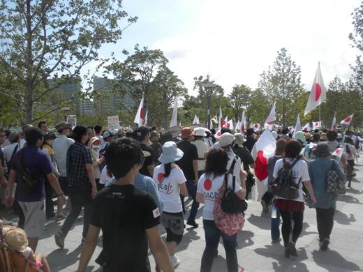 2011年9月17日フジテレビ抗議デモ(ダブルヘッダー)