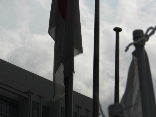 2011.9.19 国を売るメディア(フジテレビ)を糾弾する国民行動・第二弾!フジテレビのボロボロ国旗事件