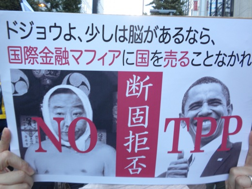 TPPを断固拒否するデモ!