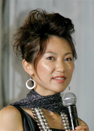山本真純さん=2008年6月