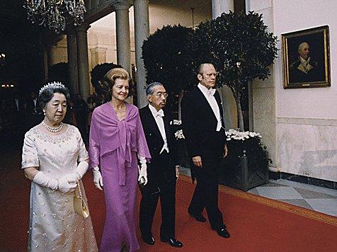 両陛下とフォード大統領