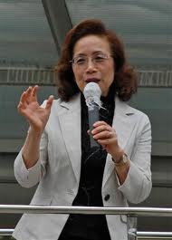菅首相の伸子夫人